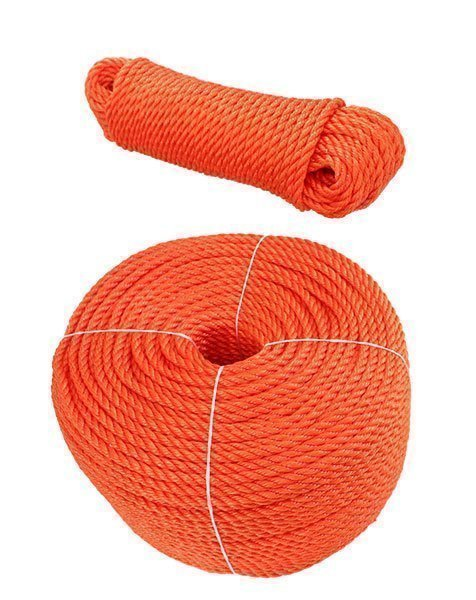 Coil and Hank of 3 Strand Floating Rope