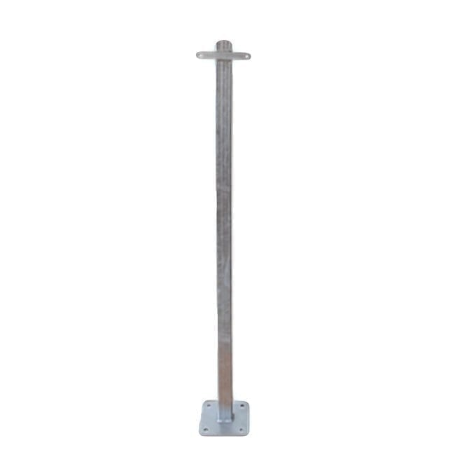 Galvanised Poles for lifebuoy cabinet