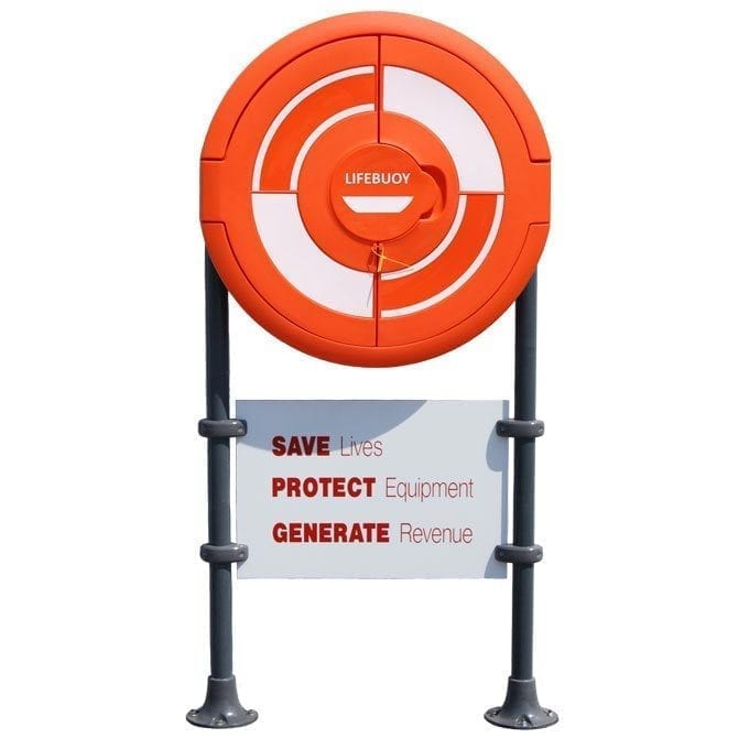 Lifebuoy Housing Designed With RNLI